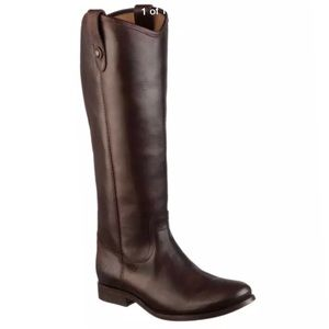 """New Frye """"Melissa button"""" leather riding boots"""